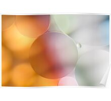 Pastel Bubbles Poster