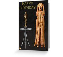 The Scream World Tour Oscars Happy Birthday  Greeting Card