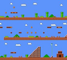 Super Mario Bros World 1-1 by stowball