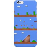 Super Mario Bros World 1-1 iPhone Case/Skin