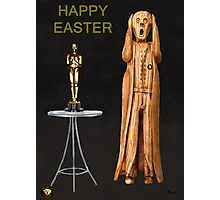 The Scream World Tour Oscars Happy Easter Photographic Print