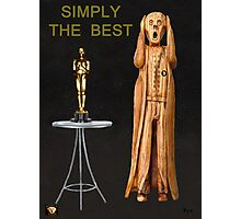 The Scream World Tour Oscars Simply The Best Photographic Print