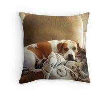 Belle Scrolls Throw Pillow