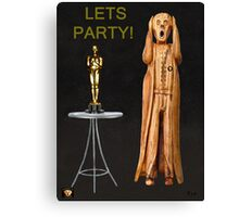 The Scream World Tour Oscars Lets Party Canvas Print