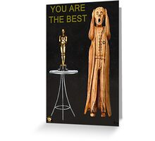 The Scream World Tour Oscars You Are The Best Greeting Card