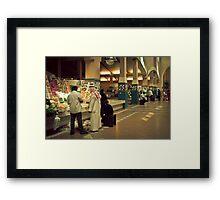 Vegetable market, Fahaheel, Kuwait Framed Print
