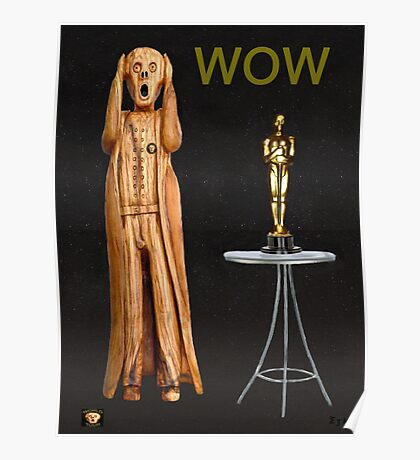 The Scream World Tour Oscars Wow Poster