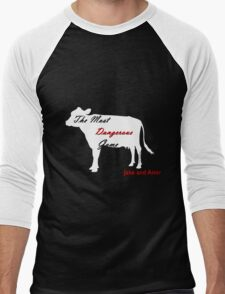 Jake and Amir - Mountain Hiker  Men's Baseball ¾ T-Shirt