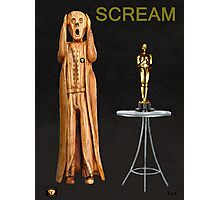 The Scream World Tour Oscars Scream Photographic Print