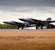F-111's Dual Landing by glynnj85