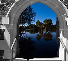 Doorway with a view by Andrew (ark photograhy art)