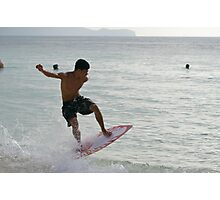 Boogie board! Photographic Print