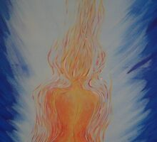 Aflame - my mother's bravery during her battle with cancer and radiation therapy by Dona Tantirimudalige
