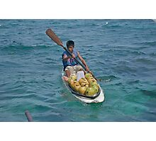 Surfboard coconuts Photographic Print