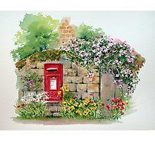 Village Postbox Photographic Print