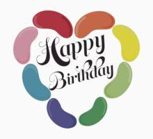 Happy Birthday Jelly Beans Kids Tee