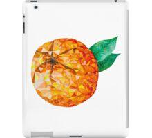 Low Poly Watercolor Orange iPad Case/Skin