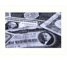 Economics Art Print