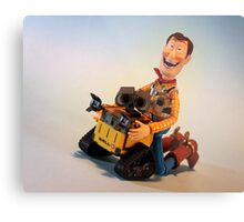 Wall-E in trouble!! Metal Print