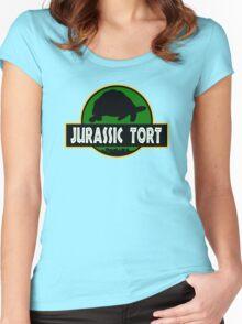 Jurassic Tort Women's Fitted Scoop T-Shirt