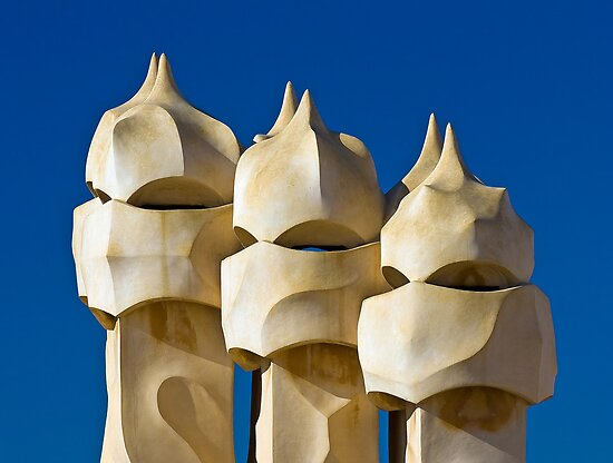 Casa Milá (La Pedrera), Barcelona, Spain by jmhdezhdez