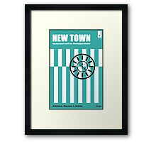New Town - Modernism and the Municipal Model Framed Print