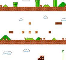 Super Mario Bros World 1-1 Sticker