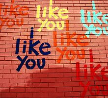 i like you by Lynne Prestebak