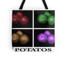 potato trio: quatro Tote Bag
