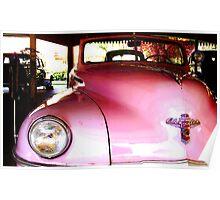 Pink Chrysler Poster