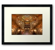 Architectural Treasure Framed Print