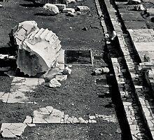 Il Mito di Roma - Dettaglio dei Fori Imperiali (6 / 15) by Giulio Menna