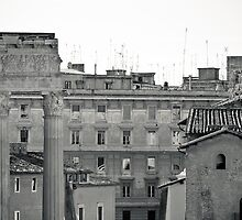 Il Mito di Roma - Tempio di Apollo Sosiano (10 / 15) by Giulio Menna