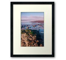 """""""Blue Yonder"""" at """"Westward Ho"""" Framed Print"""