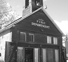 The Old Ridgway Firehouse by Eric Glaser