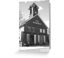 The Old Ridgway Firehouse Greeting Card
