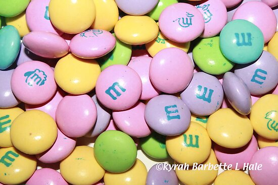 Pastel m&m's by DreamCatcher/ Kyrah Barbette L Hale