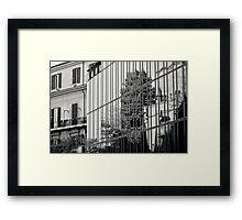 Il Mito di Roma - Palazzina Polifunzionale in Via Campania (13 / 15) Framed Print