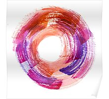 Abstract Watercolor Stroke  Poster
