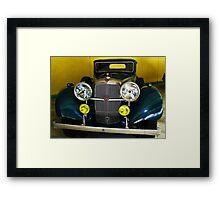 1937, Alvis, 3.5 Lit. England. - Sports Saloon Framed Print