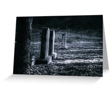 Life's Reflections Under a Full Moon Greeting Card