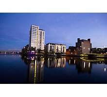 Grand Canal Dock Photographic Print