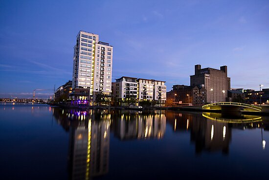 Grand Canal Dock by Alessio Michelini