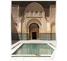 Bahia Palace, Marrakech, Morocco Poster