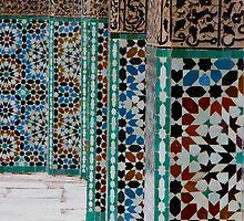 Pillars - Bahia Palace, Marrakech, Morocco by gorecki79