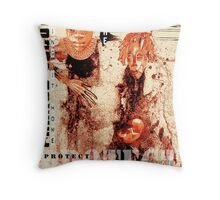 family values Throw Pillow