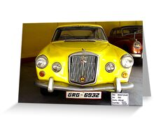 1964, Wolseley, England - Sports Saloon Greeting Card