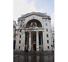Bush House (BBC)  London, UK Photographic Print