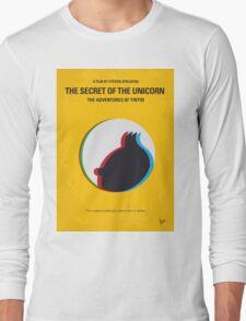 No096 My TINTIN-3D minimal movie poster Long Sleeve T-Shirt