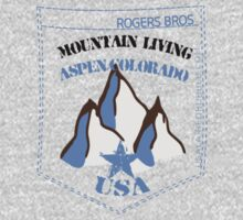 usa aspen tshirt by rogers bros T-Shirt